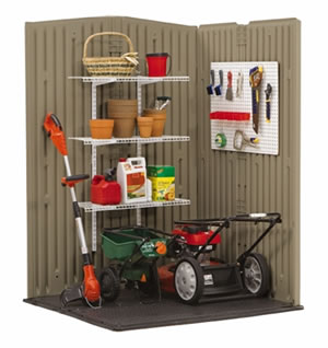 your Rubbermaid Roughneck® Shed as shown in the photo above